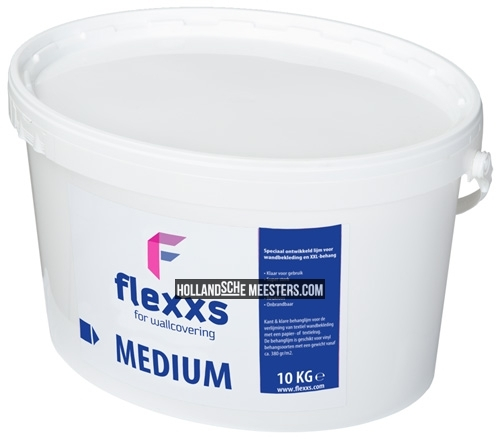 Behanglijm Flexxs medium, 10 liter | Hollandsche Meesters